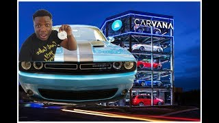 I BOUGHT MY DREAM CAR FROM A VENDING MACHINE AND I CRIED | My Carvana Experience | Dodge Challenger