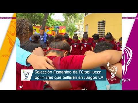 Selección femenina de fútbol brillará en juegos CA