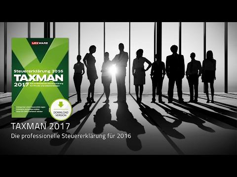 TAXMAN 2017 – Produktpräsentation der aktuellen Steuer-Software