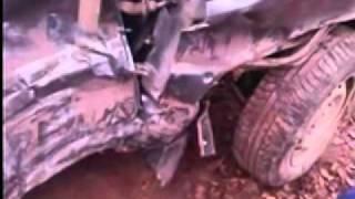 Автомашина после аварии