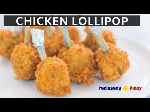 How to Cook Chicken Lollipop | Fried Chicken Wings | Panlasang Pinoy