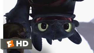 How to Train Your Dragon - Dragon Fight Scene | Fandango Family