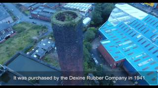 Former site of the Dexine Rubber Company
