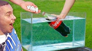 Eksperiment: Koka Kola i Mentos Ispod Vode