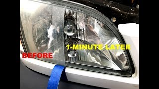 How MOMMA Repairs Headlights to NEW in 3 Minutes