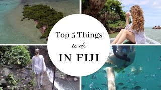 Top 5 things to do in Fiji | Travel Guides | How 2 Travelers