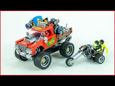 Vidéo LEGO Hidden Side 70421 : Le quad chasseur de fantômes