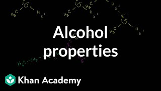 Alcohol Properties
