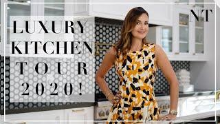 LUXURY DREAM KITCHEN REVEAL 2020! | Dream Kitchen Full Tour | NINA TAKESH