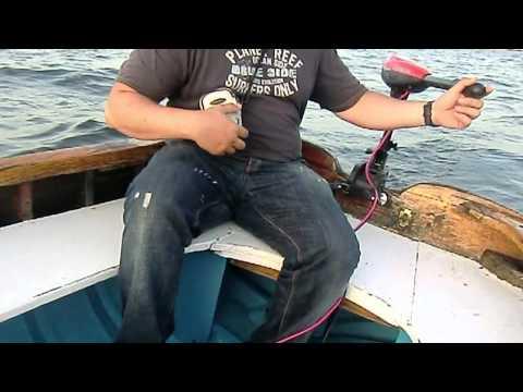Test fuoribordo elettrico in mare