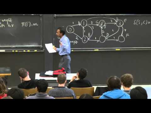 Lecture 15: Single-Source Shortest Paths Problem | Lecture