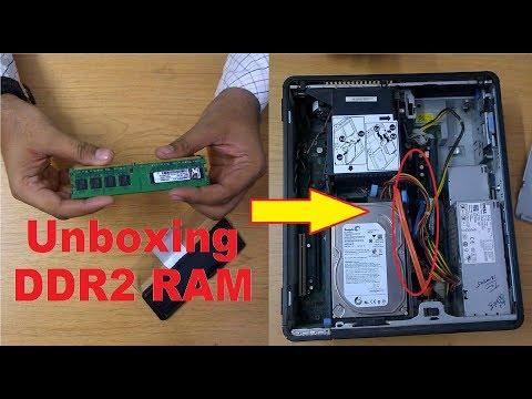 DDR2 RAM UNBOXING AND HOW TO FIT IN CPU | UNBOXING DDR2 RAM