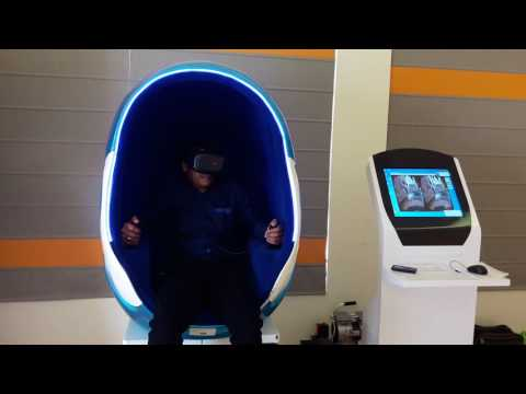 Egg VR Arcade Game Machine - Single Seat
