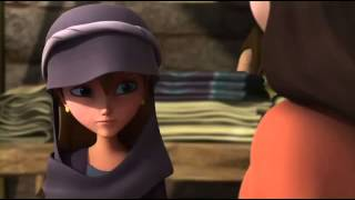 Superbook-Joy Meets Rahab/Chris And Gizmo Use Their Spy Gadgets