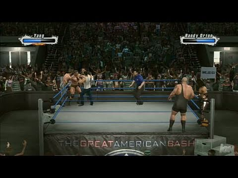 Download WWE SmackDown vs. Raw 2009 PlayStation 3 Gameplay - Friday Fights: 6 Man Elimination HD Mp4 3GP Video and MP3