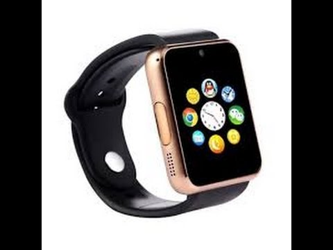 GT08 Bluetooth Smartwatch Review (SIM card slot)