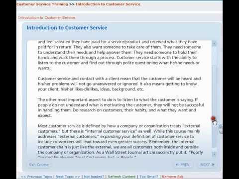 Customer Service Training Course - YouTube