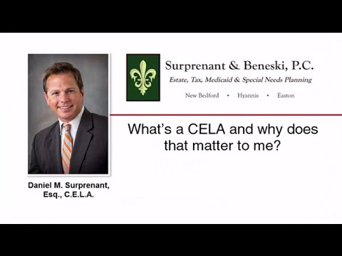 What's a CELA and why does that matter to me?