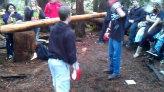 Austin Williams vs George boxing