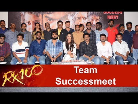 RX 100 Movie Team Successmeet
