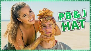 PB&J Hairstyle Challenge!| Do It For The Dough W/ Tessa Brooks And Chance Sutton