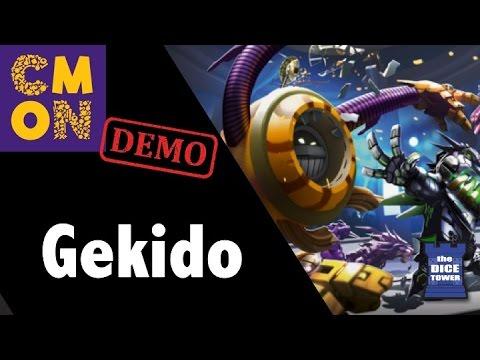 CMON Expo 2017 - Gekido: Bot Battles