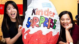 We Made A Giant Kinder Egg
