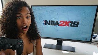 ANGRY GIRLFRIEND DELETES BOYFRIENDS NBA 2K MYCAREER PLAYERS!!! LEADS TO A BREAKUP!!!