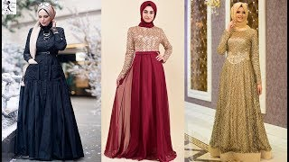 Beautiful Dresses With Scarf || Hijab Combination With Dresses || Hijab Color Combination