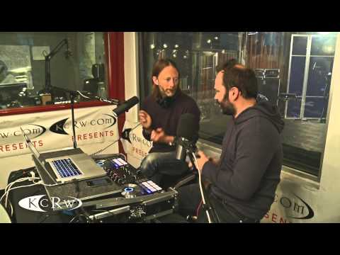 thom yorke and nigel godrich atoms for peace take over kcrw