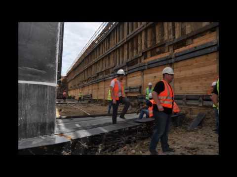 Jak nasuwa się wiadukt kolejowy?