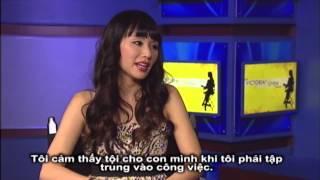Nữ ca nhạc sĩ Trish Thuỳ Trang tâm tình về thiên chức làm mẹ cùng Victoria Tố Uyên