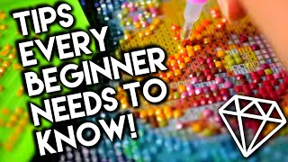 Diamond Painting Introduction, Tips & Tricks For Beginners