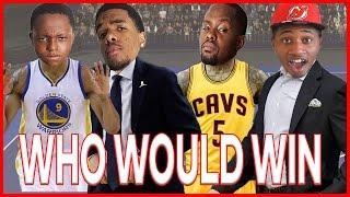 WHO WOULD WIN? KERR & IGGY OR SMITH & LUE?!! - NBA 2K17 Blacktop
