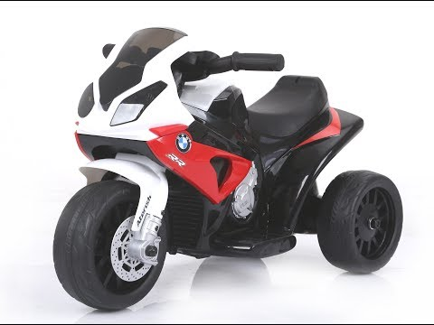 Unboxing and assembly of BMW S1000 RR electric ride-on trike