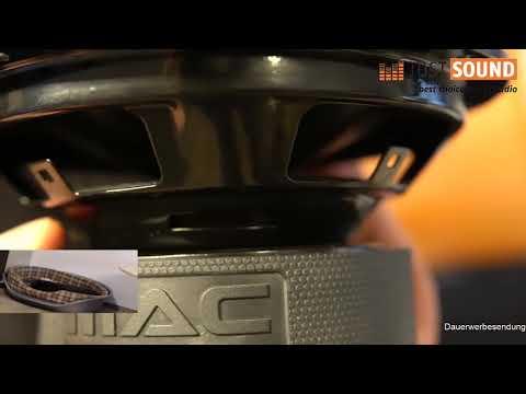 ÜBERKRAFT 2.16 MacAudio Auto Lautsprecher 16cm 2-Wege System