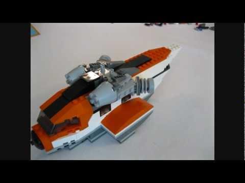 Vidéo LEGO Creator 7345 : L'hélicoptère de transport