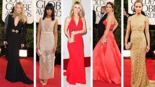Jennifer Lawrence and Kate Hudson Get Our Vote For Golden Globes Best Dressed!