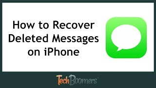 How to Recover Deleted Text Messages on iPhone