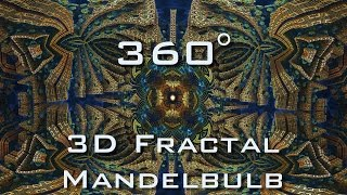 360° Mandelbulb 3D Fractal Panorama Slideshow VR 4K UltraHD