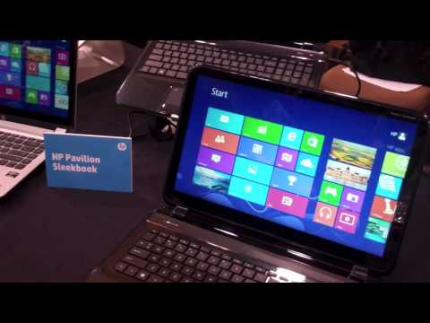 New HP Pavilion TouchSmart Sleekbook and HP Pavilion Sleekbook