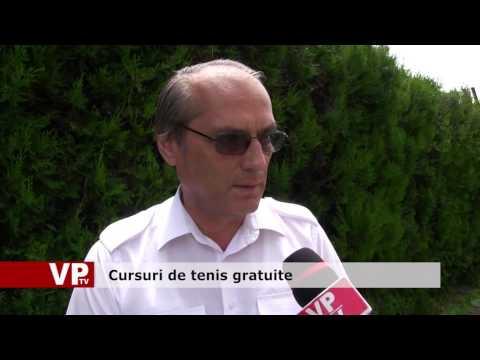 Cursuri de tenis gratuite