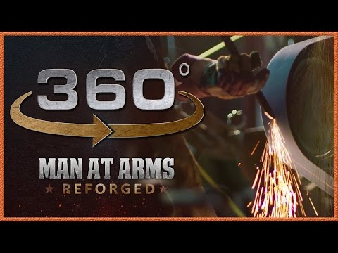 Tour of Man At Arms: Reforged Shop In 360 - The Grinding Room!