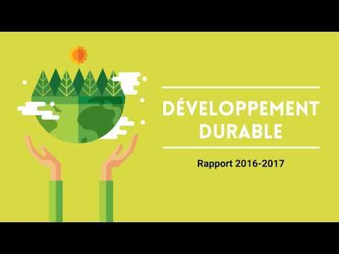 Rapport Développement Durable - Nos chiffre clés 1/2