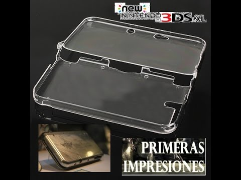 Impresiones - Carcasa Trasparente New 3DS XL - By Snapdragon.
