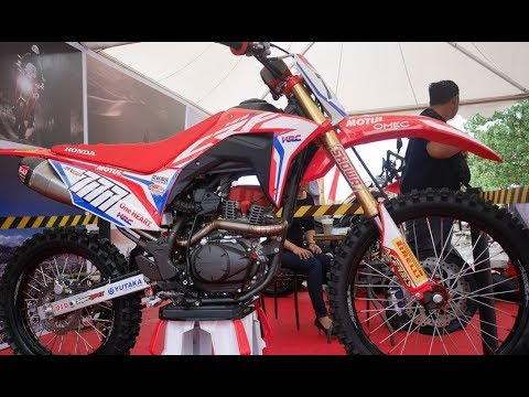 2018 Honda CRF 150 || Honda Entry Level Motocross First Launch in Indonesia