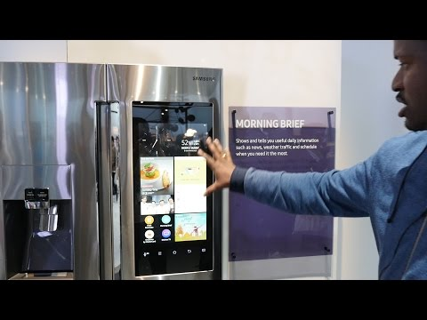 Samsung Family Hub 2.0 Smart Fridge