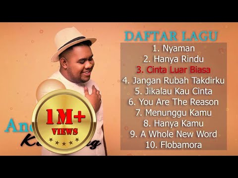 "Andmesh Kamaleng [ Full Album ] 💙 Lagu Indonesia Terbaru 2020 💙 Hits Single ""NYAMAN"""