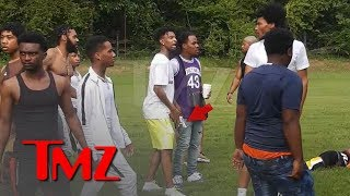 21 Savage Flashes Gun in Pool Party Fight | TMZ
