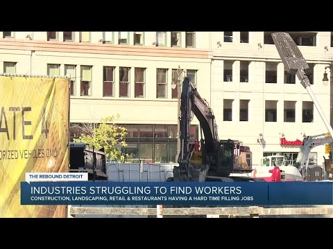 Some Michigan industries still having hard time finding skilled labor workers